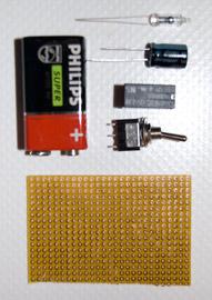 I componenti necessari per costruire questo antifurto gsm per auto